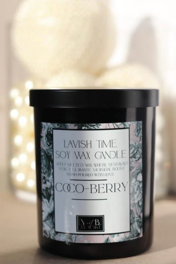 Coco-Berry Soy Wax Candle